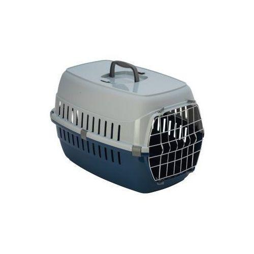 Transporter z kratką dla dużego kota - dark blue