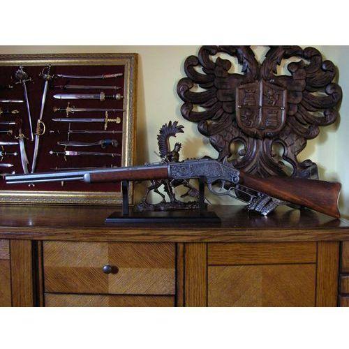 Bogato grawerowany winchester caliber 44 1873 r (1253/g) marki Denix
