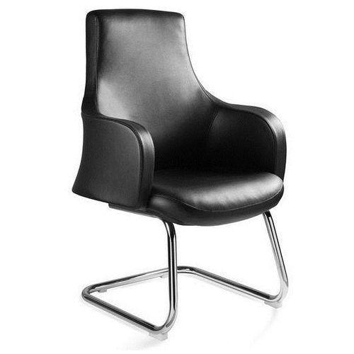 Krzesło konferencyjne BLOSSOM czarny