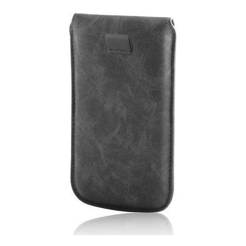 GreenGo Pokrowiec Slim Up Savana 5,5 (Galaxy Note 2) czarny - T0013393 Darmowy odbiór w 21 miastach!, kolor czarny