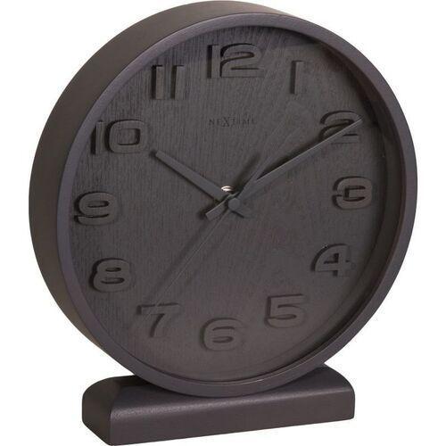 Nextime Zegar stołowy wood wood mały, ciemny (5192 gs) (8717713012924)