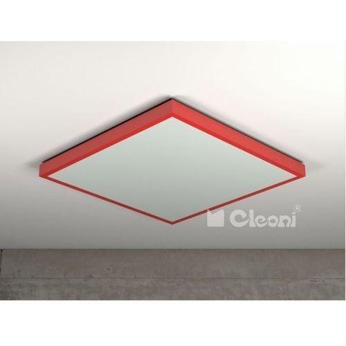 Plafon NOBLE I 66,2X66,2cm 4X14W 1147P61 CLEONI - 18 kolorów wykończenia!!!, 1147P61