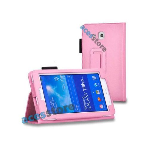 Etui stojak Samsung Galaxy Tab 3 7.0 LITE - Różowy