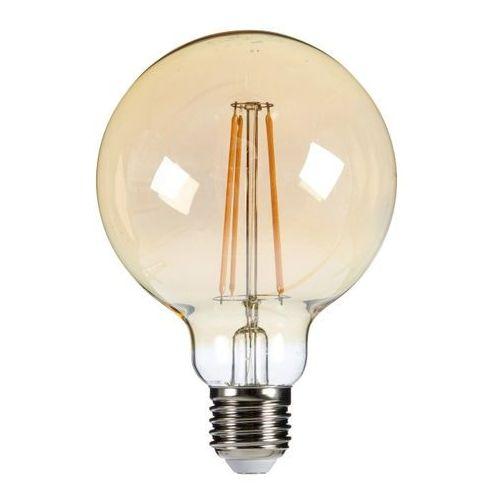 Diall Żarówka led filament gold g95 e27 5 5 w 470 lm przezroczysta barwa ciepła (3663602838746)