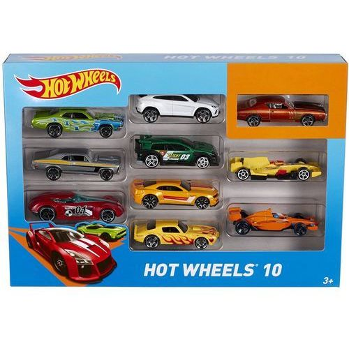 Samochody  10 car pack styles may vary marki Hot wheels