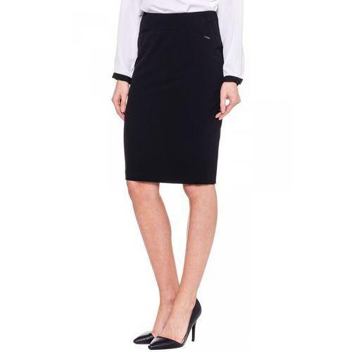 Emoi Czarna, elegancka spódnica -