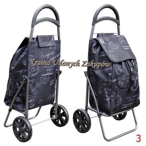 Wózek na Zakupy torba na kółkach na łożyskach