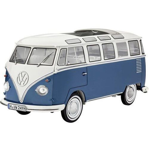 Revell Model samochodu do sklejania  07009, volkswagen t1 bus samba, 1:16 (4009803070094)