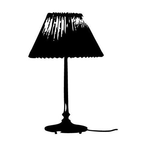 Szabloneria Naklejka ścienna lampka nocna
