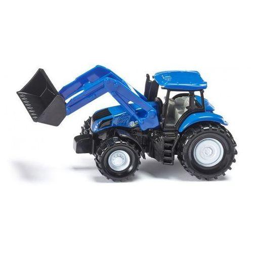 , traktor new holland z przednią ładowarką - trefl marki Siku