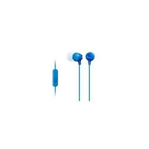 Słuchawki Sony MDREX15APLI.CE7 (MDREX15APLI.CE7) Niebieska