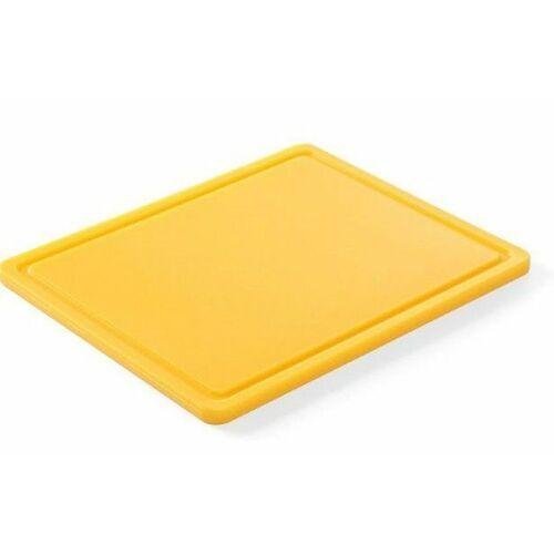 Hendi OUTLET - Deska do krojenia HACCP | GN 1/2 | kolor brązowy - kod Product ID