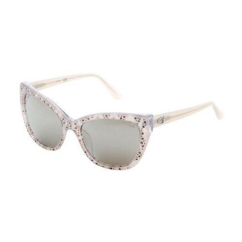 Okulary przeciwsłoneczne damskie - gu7438-91 marki Guess