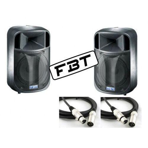 Zestaw 2X FBT DJ 15A + 2x Przewody XLR XLR 10M