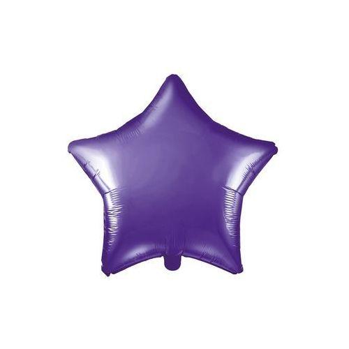Party deco Balon foliowy gwiazdka fioletowa - 48 cm - 1 szt.