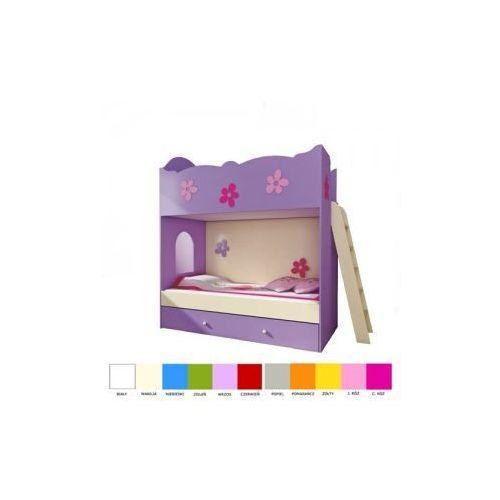 Łóżko piętrowe z drabinką 180x90 CLASIC