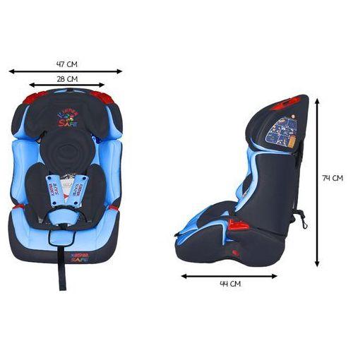 Fotelik Samochodowy KinderSafe DeLuxe ISOFIX 9-36 KG GE-S (5902921964568)