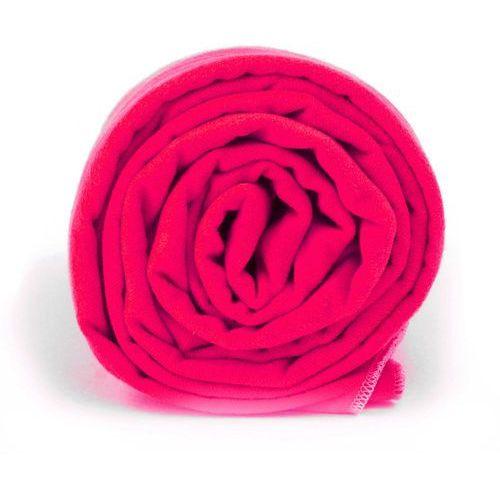 Dr.bacty Ręcznik szybkoschnący xl neon różowy (5902596774783)