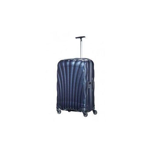 SAMSONITE średnia walizka M+ z kolekcji COSMOLITE 4 koła zamek szyfrowy z systemem TSA wykonane z materiału w opatentowanej technologii Curv, V22-304