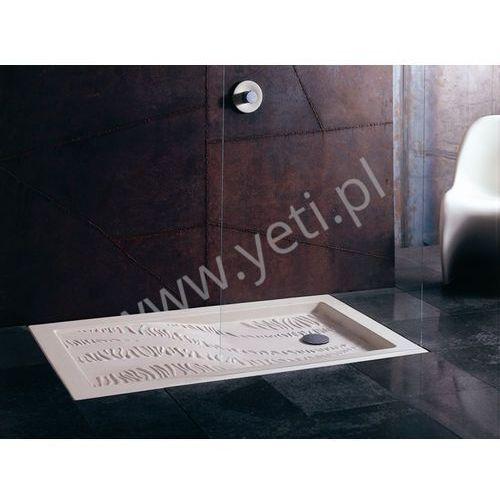 Nic design forme brodzik ceramiczny biały 120x80 nd-br-forme120