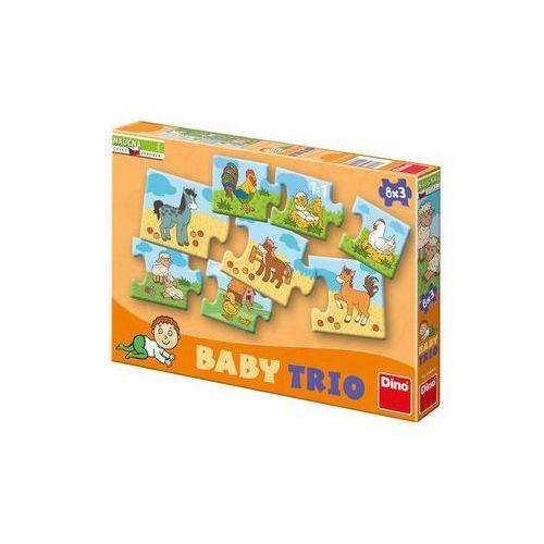 Rodina - baby trio puzzle 8x3 marki Neuveden