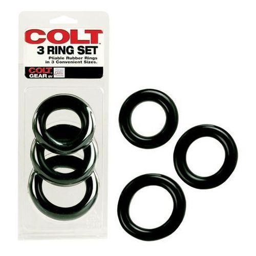 Colt 3 ring set | 100% dyskrecji | bezpieczne zakupy marki Colt gear