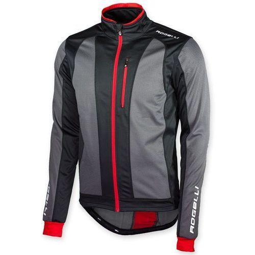 Bluza trani xxl czarno-czerwona marki Rogelli