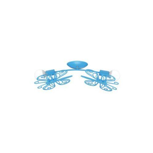 Light prestige Plafon lampa sufitowa motylek lp-14031/2c metalowa oprawa dziecięca niebieska (1000000195620)