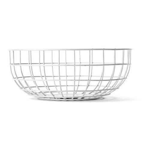 Menu Misa druciana wire bowl white