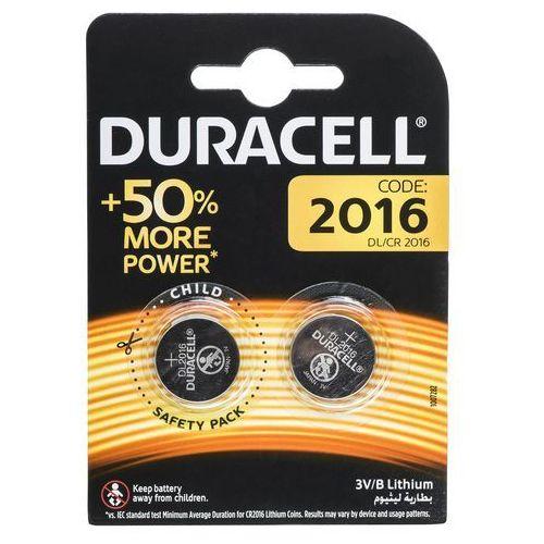 Duracell 2 x bateria litowa mini cr2016 dl2016 ecr2016 (5000394045736)