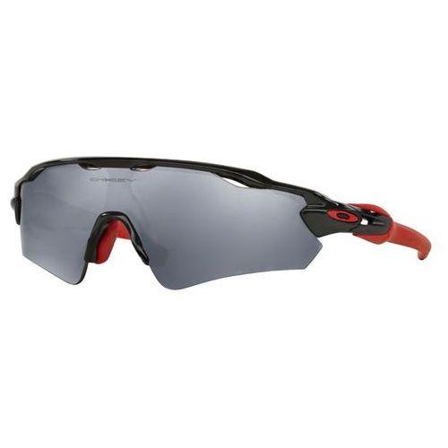 Okulary Słoneczne Oakley OO9275 RADAR EV PATH Asian Fit Polarized 927506, kolor żółty