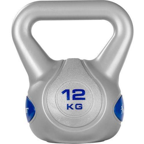 SREBRNA HANTLA KOMPOZYTOWA KULA KETTLEBELL KETLA 12KG - 12 kg (20040549)
