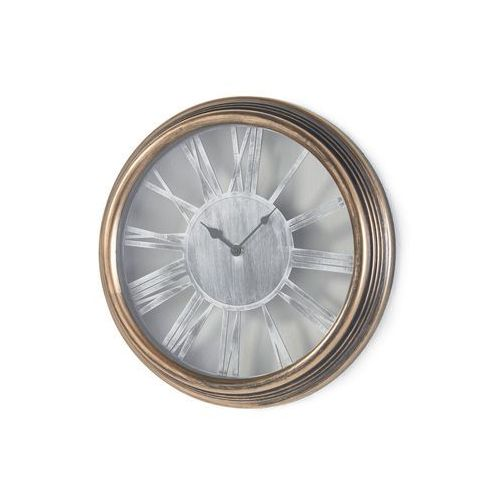 Bonprix Zegar ścienny złocisto-czarny z efektem wytarcia