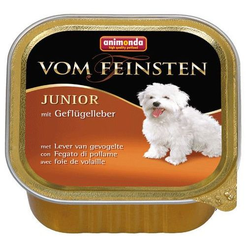Animonda vom Feinsten DOG JUNIOR wątróbka drobiowa (geflugelleber)150g, 6441