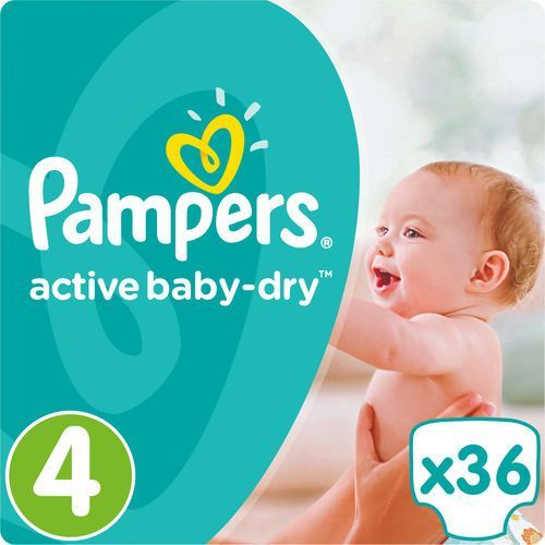 Pampers active baby pieluchy 4 maxi 36szt pieluszki. Najniższe ceny, najlepsze promocje w sklepach, opinie.