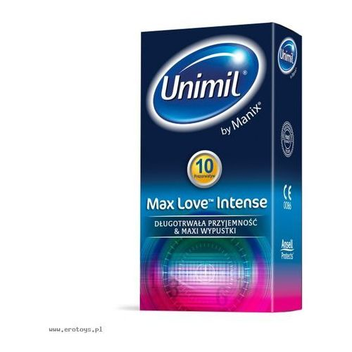 Unimil Max Love Intense 10 szt.