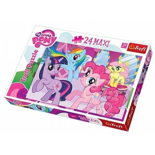 Duże puzzle maxi przyjaźn to magia my little pony marki Trefl