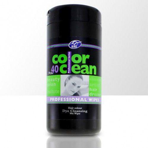 Splendore Chusteczki do czyszczenia śladów farby na skórze po koloryzacji włosów - 40 szt