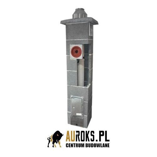 Komin k do kotłów kondensacyjnych fi 120 7,5 m + pion techniczny marki Jawar