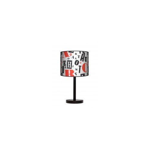 Lampy Lampa stojąca duża - retro typografia