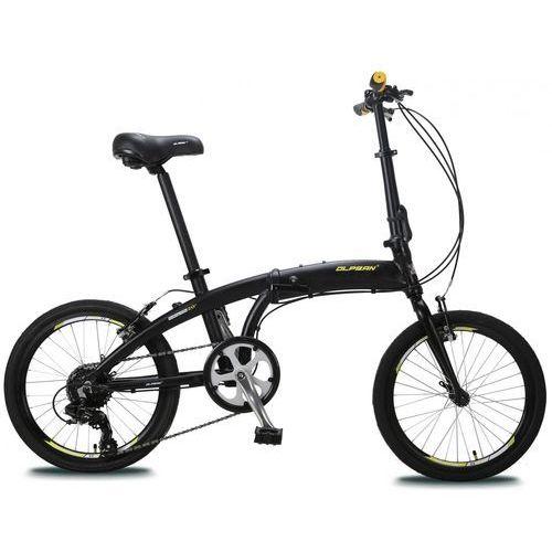 """składany rower 20"""" czarny/żółty marki Olpran"""