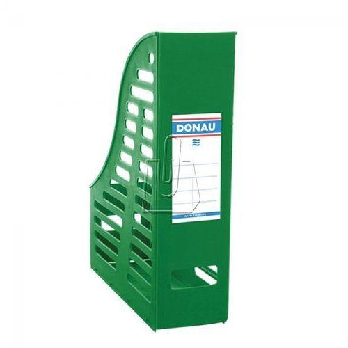 Pojemnik na dokumenty (czasopisma) Donau A4 zielony składany ażur (7464001PL-06), 7464001PL-06