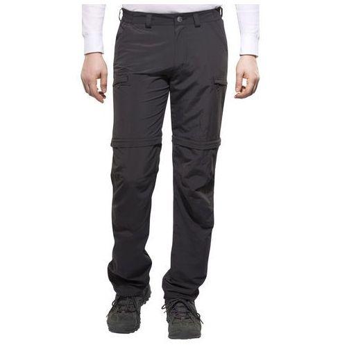 farley iv spodnie długie mężczyźni czarny 54-długie 2018 spodnie z odpinanymi nogawkami marki Vaude