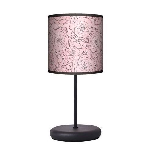 Lampa stojąca eko - pudrowe róże marki Fotolampy