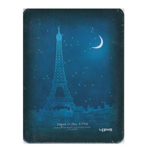 Notes A6 128 kartek Wieża Eiffla Księżyc - INCOOD OD 24,99zł DARMOWA DOSTAWA KIOSK RUCHU