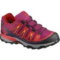 buty dziecięce x-ultra gtx j sangria/poppy red/brigh 31 marki Salomon