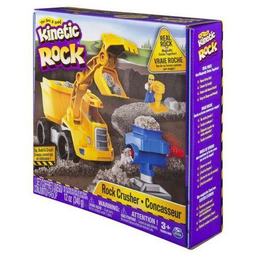 Spin master Kinetic rock rozdrabniarka piasek skały kinetyczne