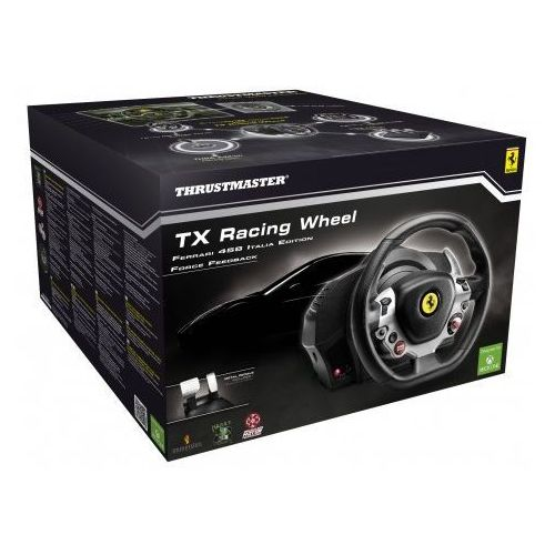 tx racing wheel ferrari 458 italia edition marki Thrustmaster - OKAZJE