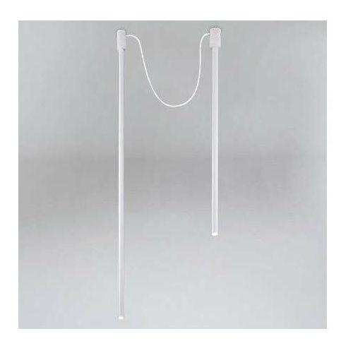 LAMPA sufitowa ALHA Y 9197 Shilo tuba OPRAWA downlight sople białe, kolor Biały
