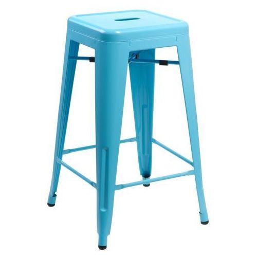 Stołek barowy paris niebieski marki D2